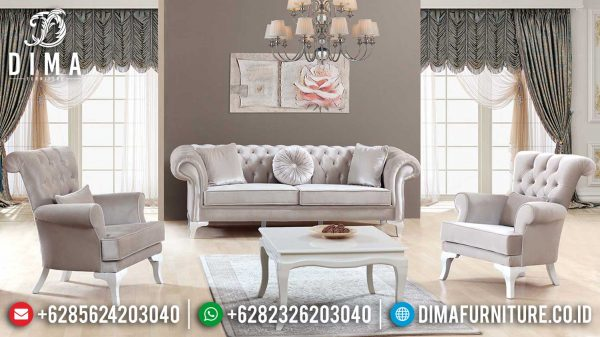 New Sofa Mewah Ruang Tamu Jepara Luxury Classic Best Seller Item ST-0978