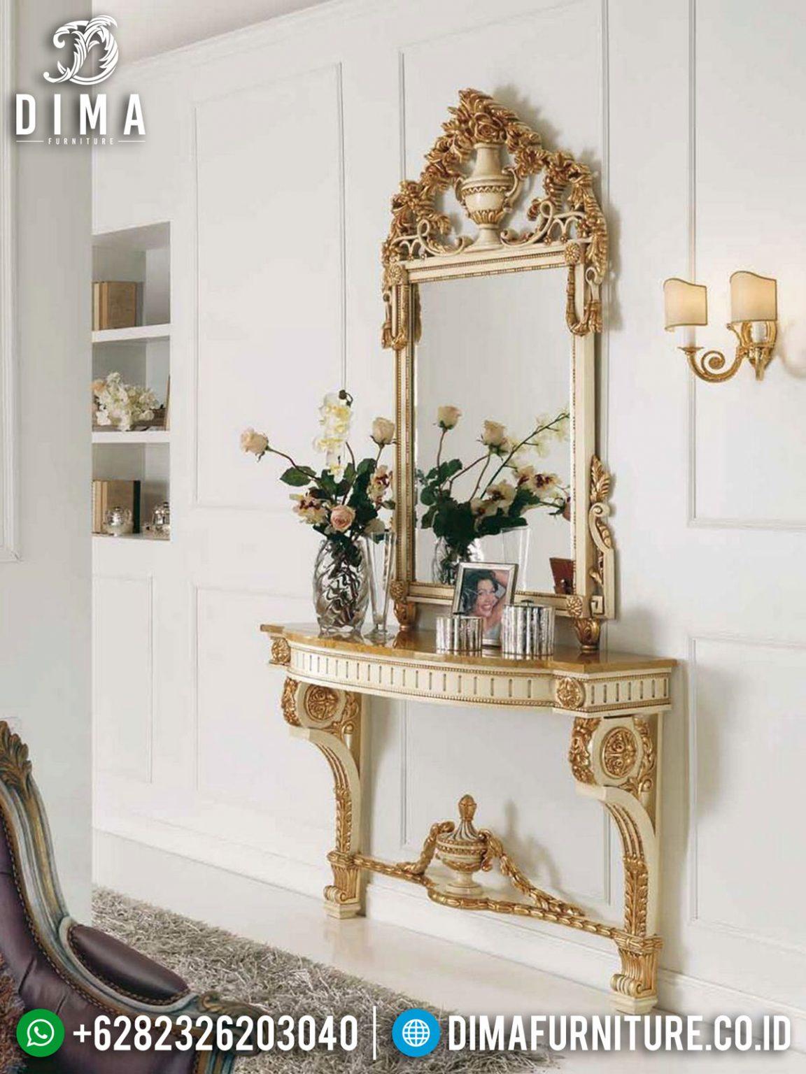 New Update Meja Konsol Mewah Ukiran Jepara Luxury Classic Solid Wood ST-0967