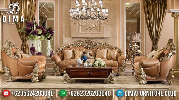 Set Sofa Mewah Ruang Tamu Classic Style Luxury New Year Update ST-0976