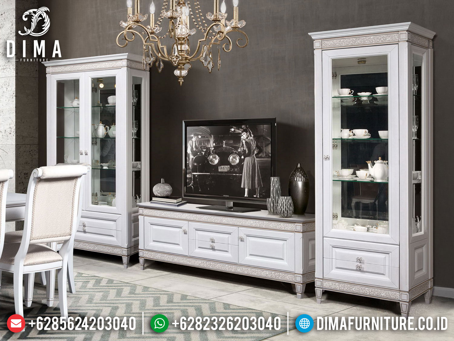 Alegro Bufet TV Minimalis New Design Best Product Quality Mebel Jepara ST-1015