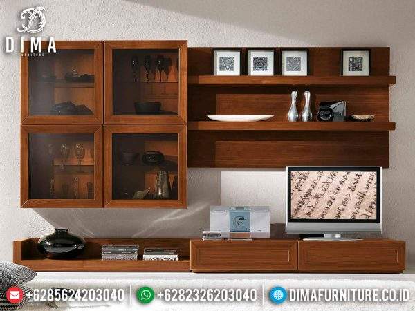 Classic Natural Bufet TV Minimalis Jati Great Quality Solid Wood Jepara ST-1019