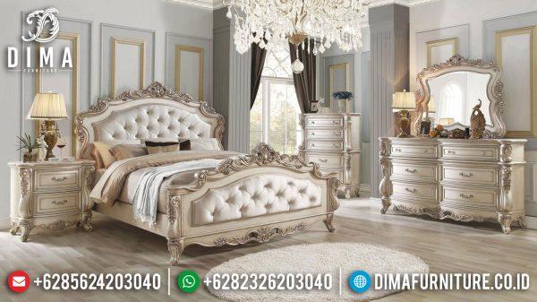 Desain Kamar Set Mewah Ukir Putih Tulang Luxury Classic Greatest ST-1060