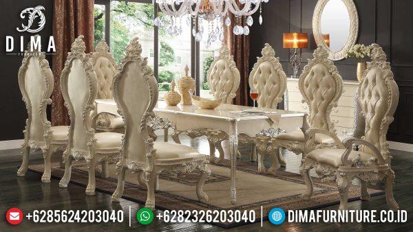 Desain Meja Makan Mewah Imperial Kingdom Luxury Classic Inspiring Style ST-1033