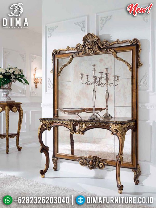 Elegant Ruby Meja Konsol Mewah Jepara Luxury Classic High Quality ST-1044