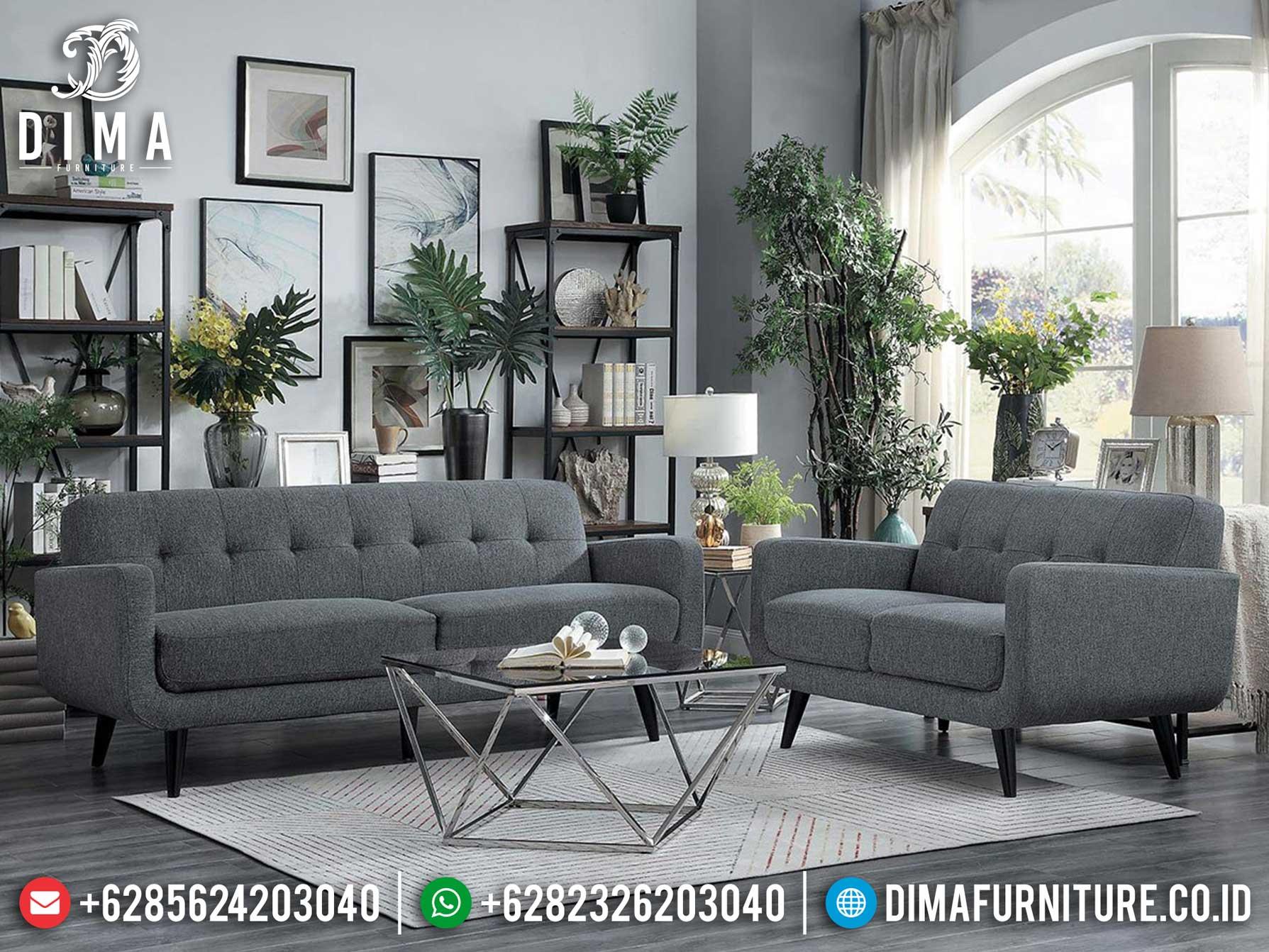Harga Sofa Tamu Minimalis Best Seller Product Ashes Grey Elegant Color ST-0993