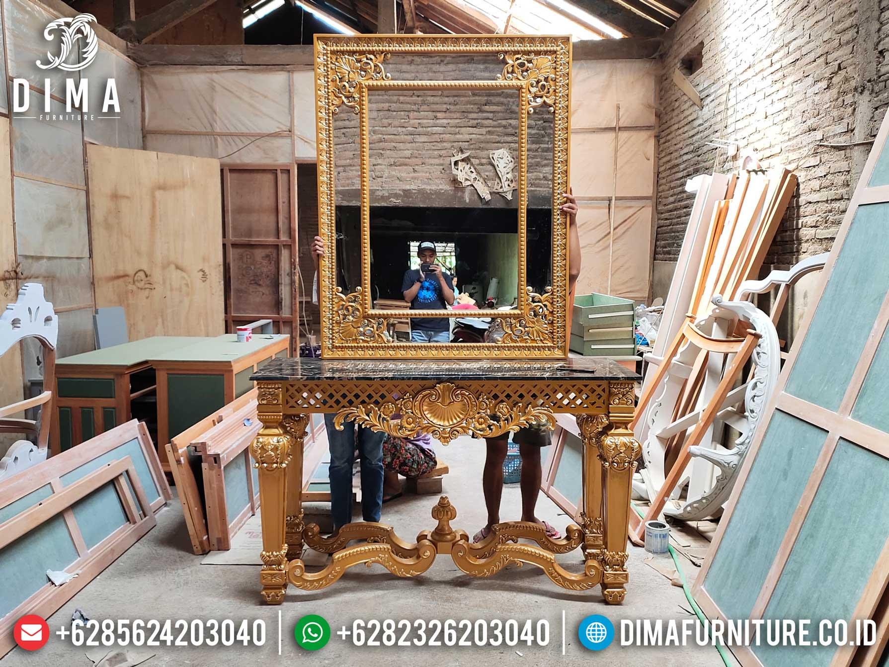 Jual Meja Konsol Mewah Ukiran Jepara Luxury Classic High Quality Color ST-1023