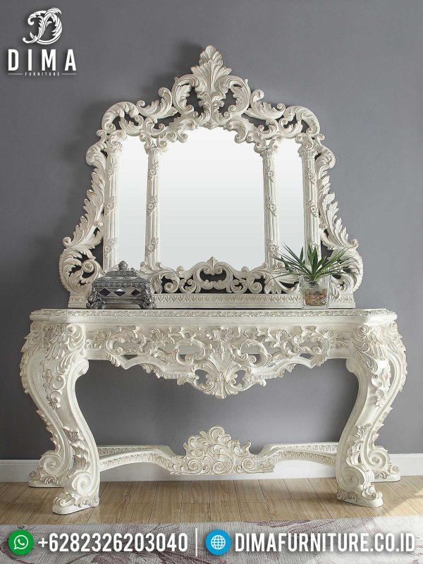 Jual Meja Konsul Mewah Jepara Luxury Carving Design Inspiring Model ST-1040