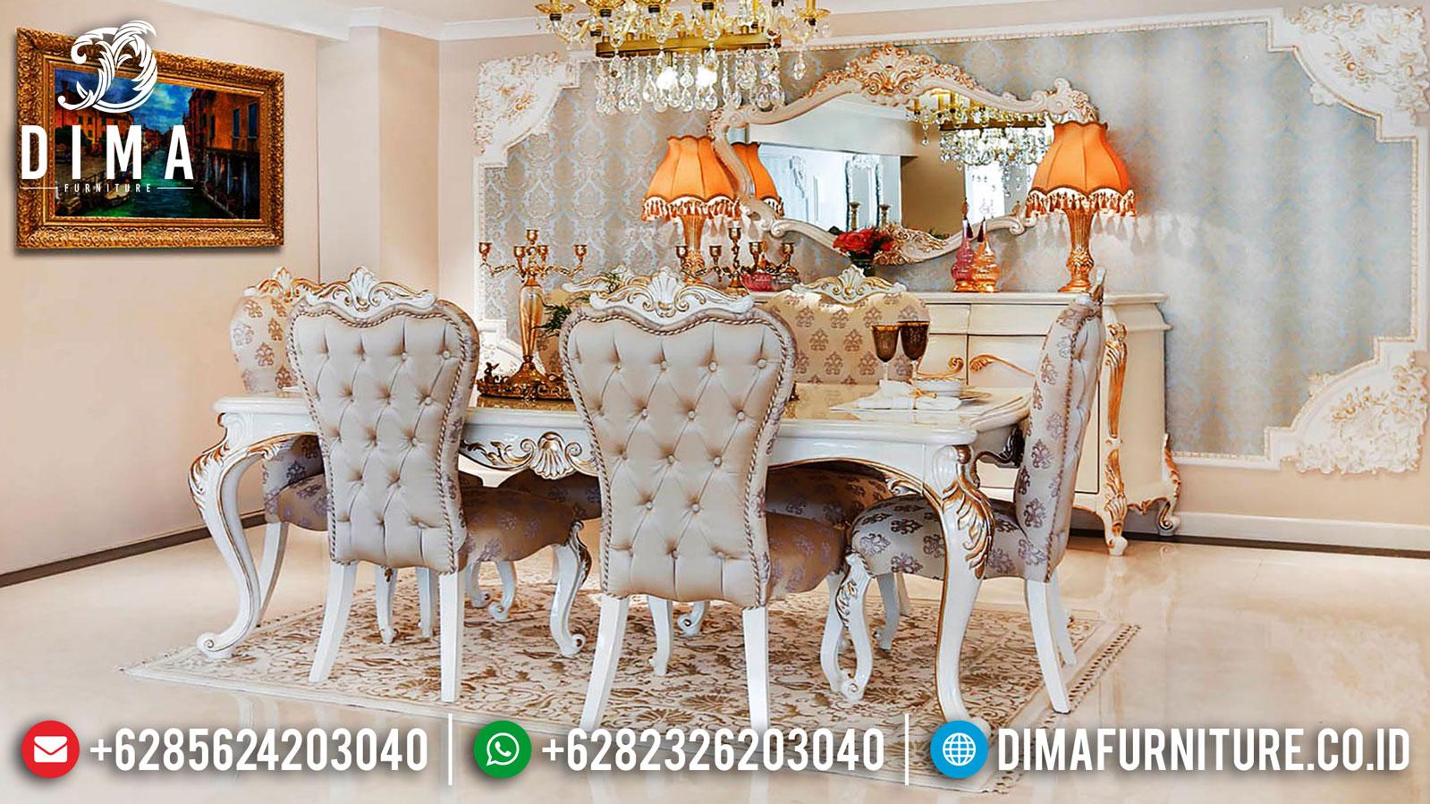 Jual Meja Makan Mewah Luxury Type Furniture Jepara Release Terbaru ST-1028
