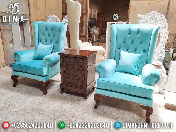 Jual Sofa Tamu Minimalis Single Seat Furniture Jepara Elegant Luxury ST-0998