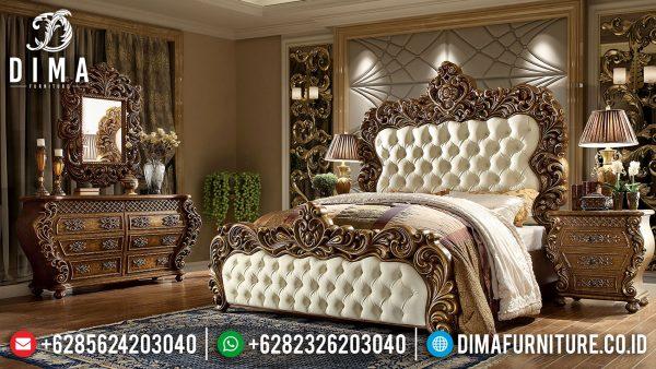 Jual Tempat Tidur Mewah Ukiran Klasik Luxury Majestic Superior ST-1063