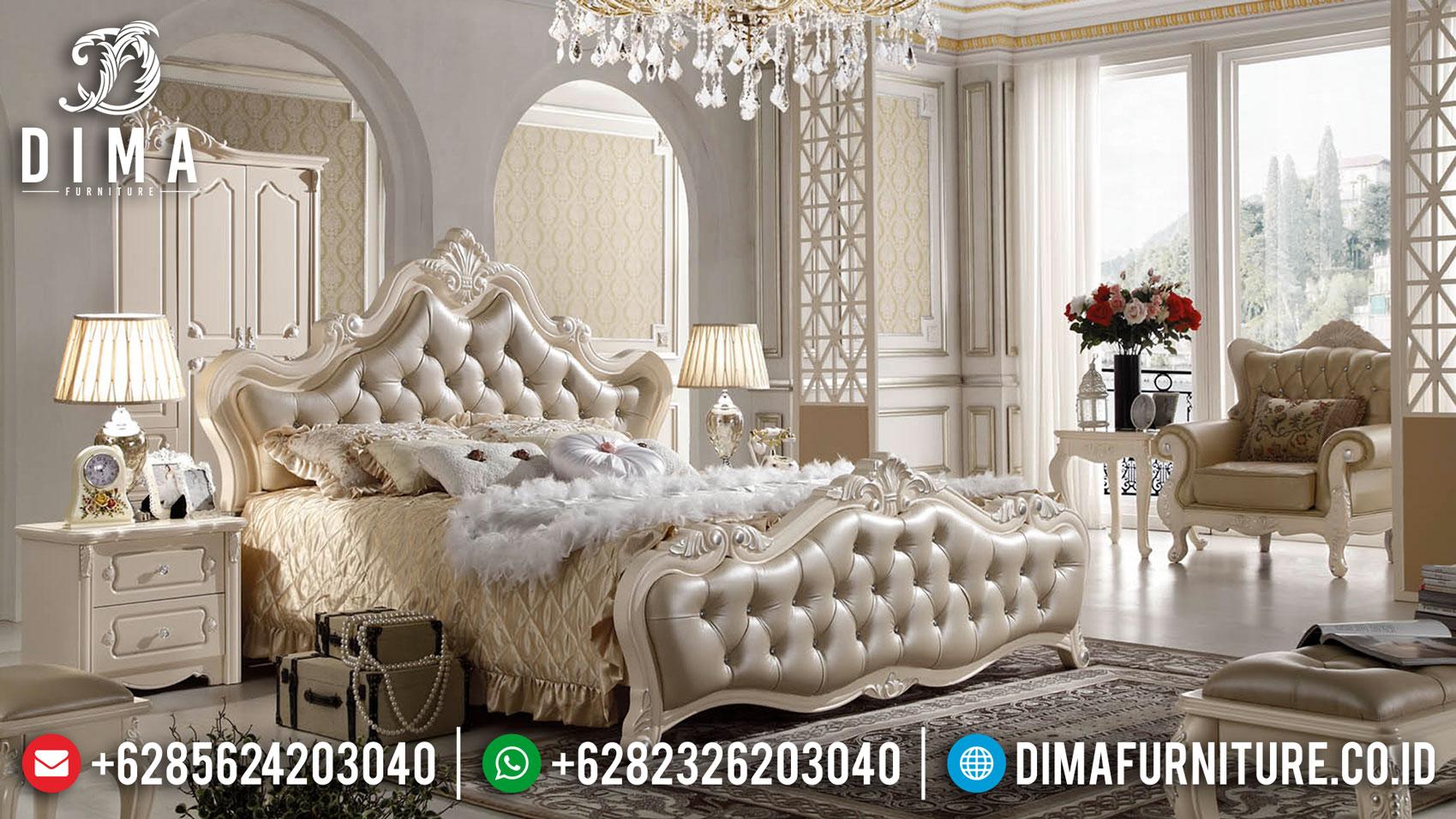 Klarybel Style Tempat Tidur Mewah Ukiran Jepara Luxury Royal Classic ST-1067