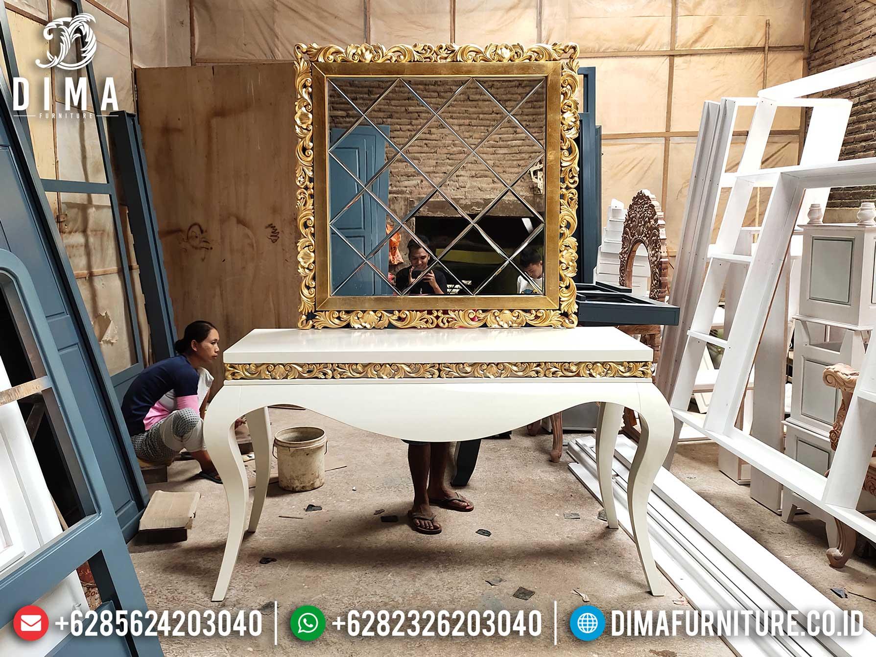 Meja Konsol Mewah Luxury Classic Furniture Jepara Terbaru New Design 2021 ST-1024