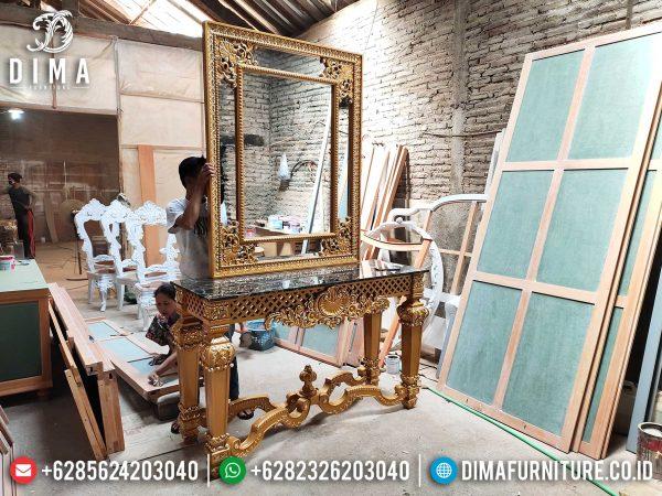 New Meja Konsul Mewah Jepara Ukiran Classic Royal Luxury Empire Design ST-1025