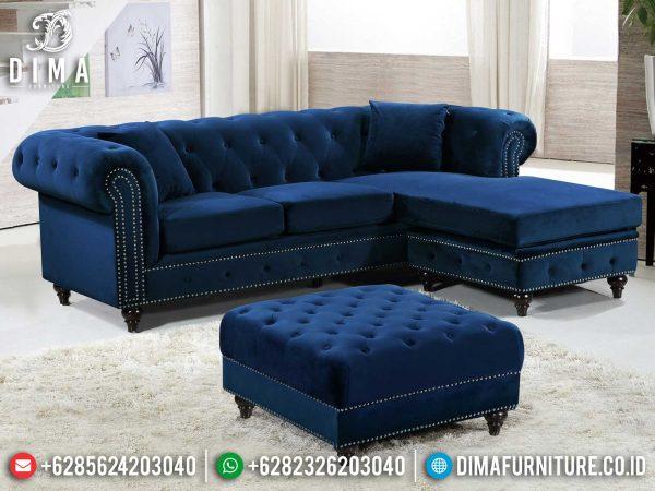 New Sofa Tamu Minimalis Sudut Modern Model Luxury Kekinian ST-0995