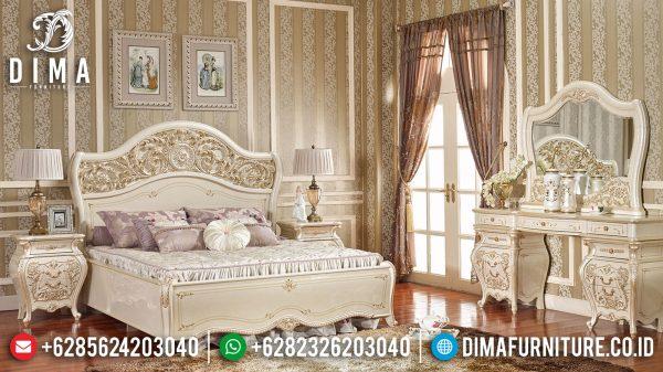 Set Tempat Tidur Mewah Jepara Baroque Style Best Product Mebel Jepara ST-1069