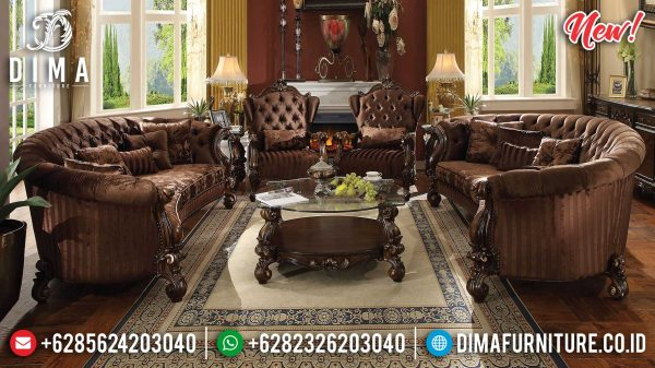 Sofa Tamu Jepara Terbaru Luxury Design Great Classic Emperial Style ST-1012