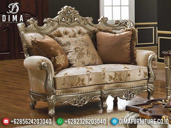Sofa Tamu Mewah 2 Seat Great Design Luxury Classic Mebel Jepara Terbaru ST-0996