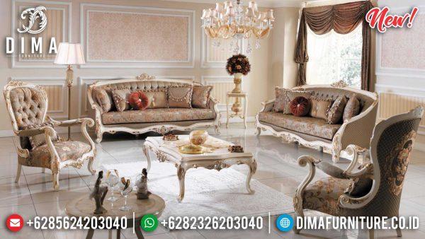 Sofa Tamu Mewah Jepara Vellania Ukiran Luxury Classic Great Quality Product ST-1005