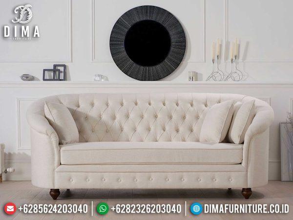 Sofa Tamu Minimalis 3 Dudukan New Chester Design Luxury Model Insipring ST-0994