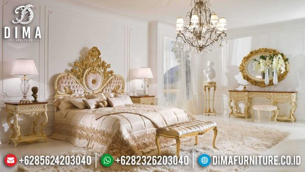 Beautiful Style Tempat Tidur Mewah Ukiran Jepara Luxury Furniture Terbaru ST-1140