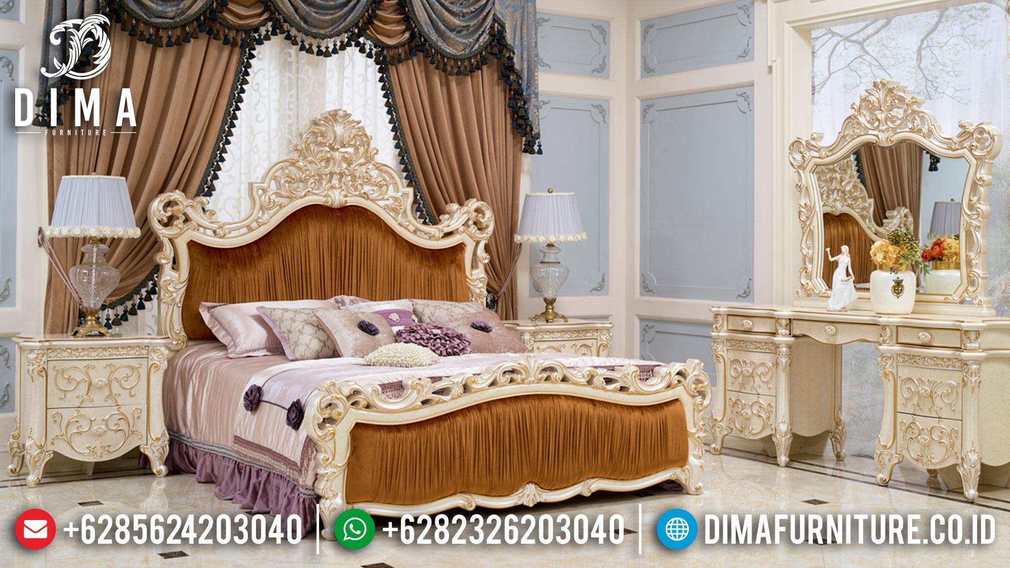 Best Sale Kamar Set Mewah Luxury Premiere Style Mebel Jepara ST-1149
