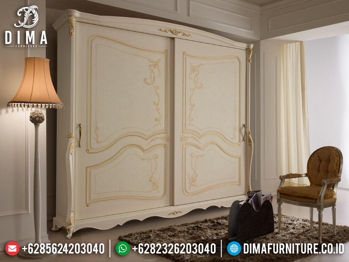 Best Seller Lemari Pakaian Mewah Jepara Luxury Classic Design Imperial ST-1087
