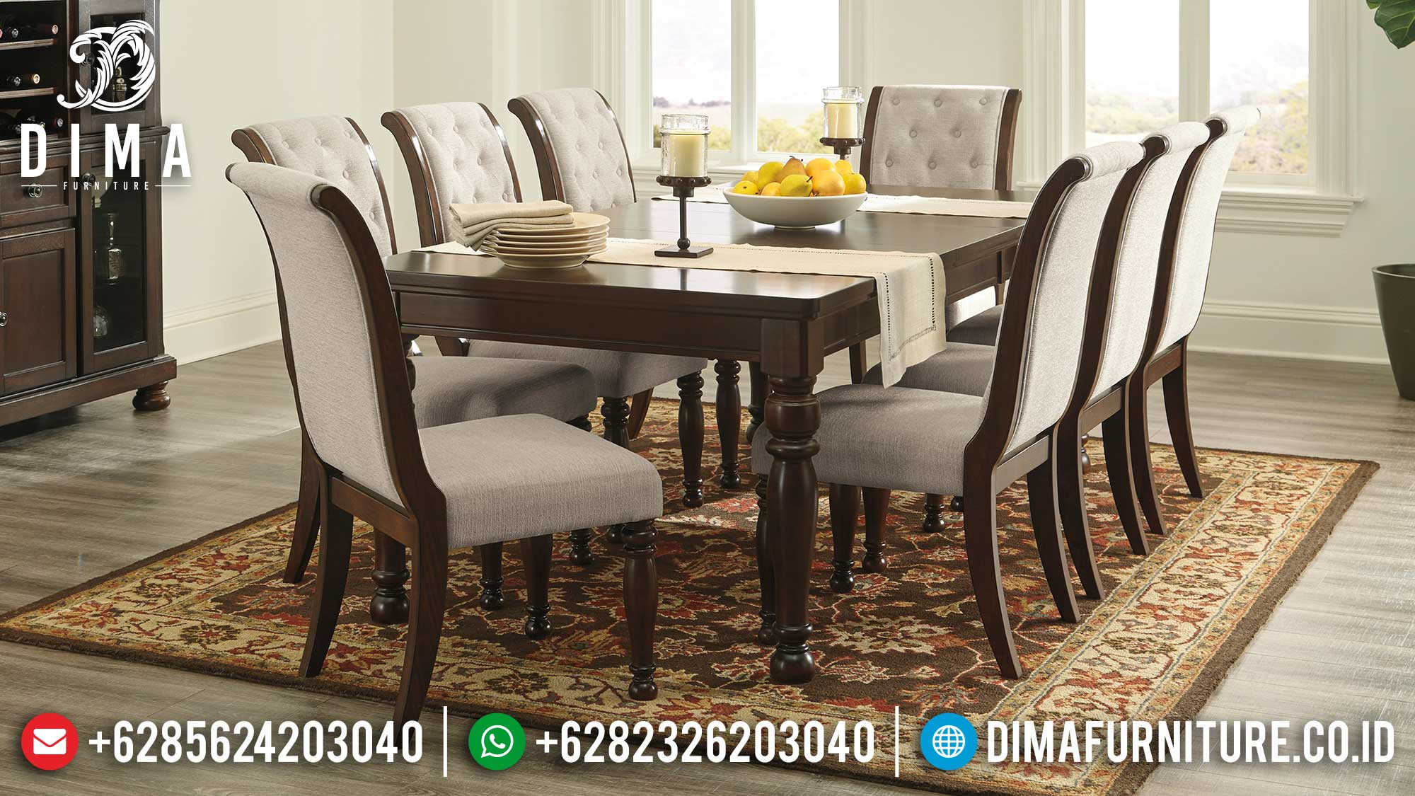 Buy Now Meja Makan Minimalis Jepara Best Seller Item Terbaru ST-1129