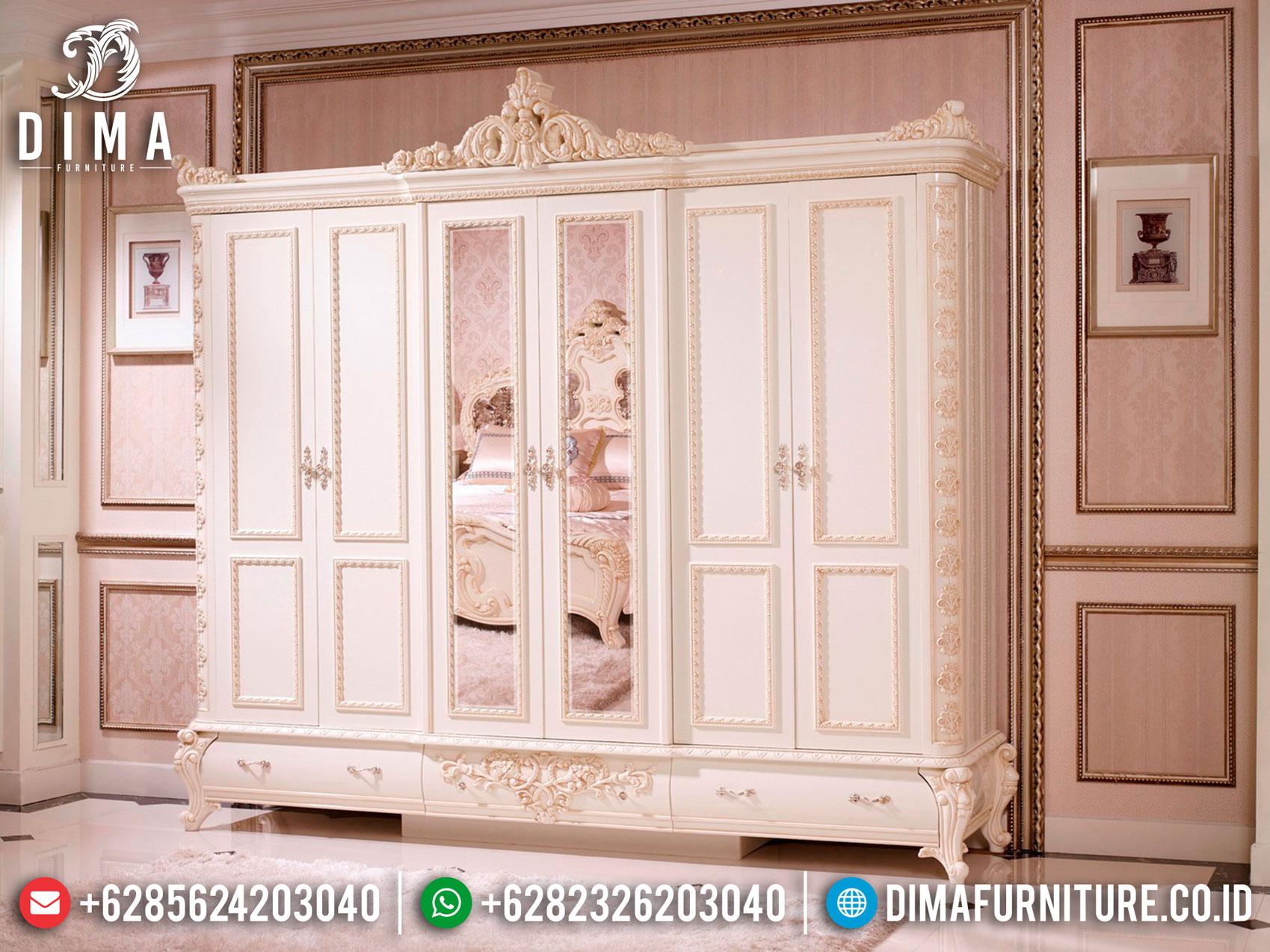 Davina Lemari Pakaian Mewah Luxury Carving Jepara Terbaru Best Item ST-1104