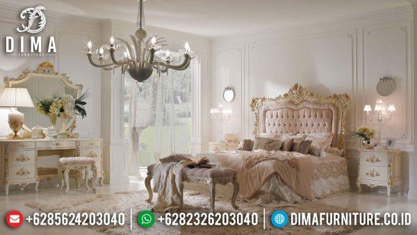 Desain Kamar Set Mewah Jepara Luxury Carving Furniture Jepara Terbaru ST-1139