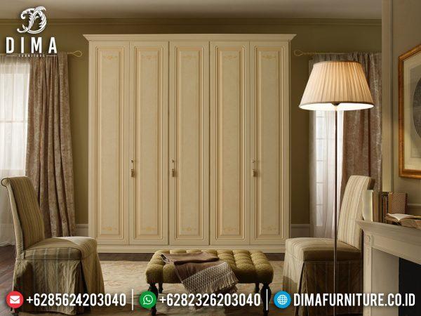 Excellent Color Lemari Pakaian Minimalis Putih Art Deco Mebel Jepara ST-1105