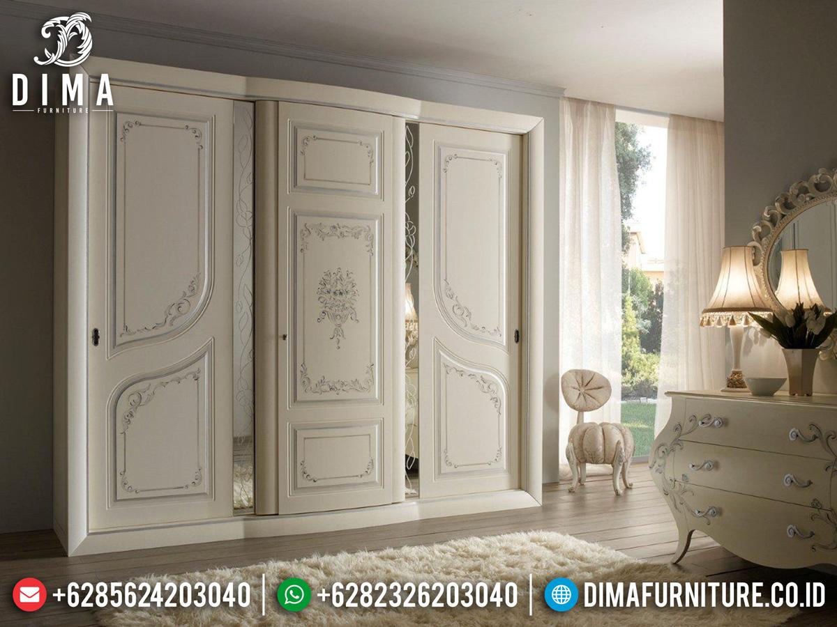 Harga Lemari Pakaian Kayu Mewah Jepara Luxury Classic New Item Dima Furniture ST-1084