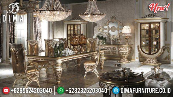 Harga Meja Makan Jepara Terbaru Luxury Classic Design Released ST-1161