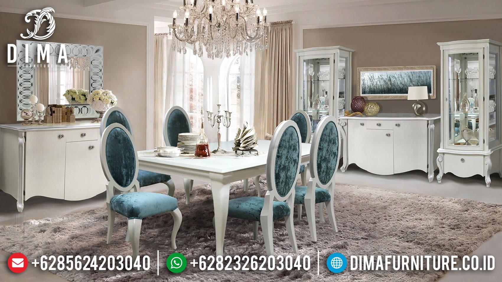 Harga Meja Makan Minimalis Art Deco Koltuk Luxury Design Mebel Jepara ST-1127