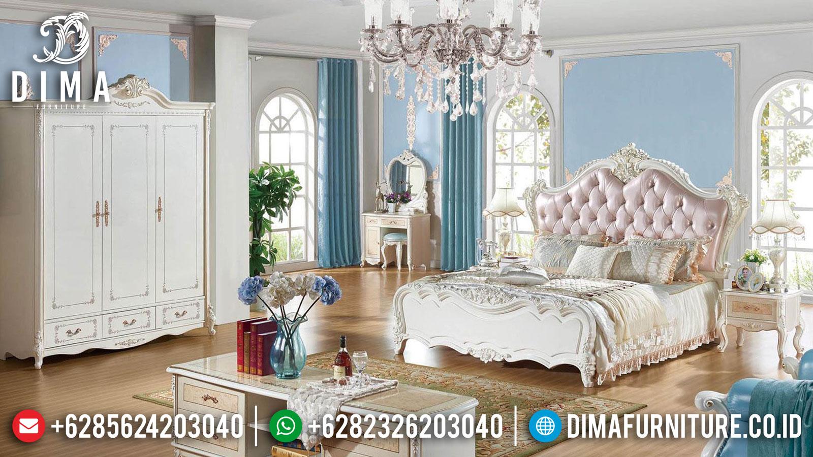 Jual Kamar Set Mewah Putih Duco Luxury Carving Jepara Greatest Item ST-1141