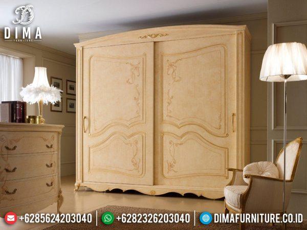 Jual Lemari Pakaian Mewah Luxury Carving Jepara High Quality Furniture ST-1088