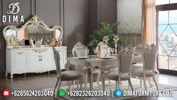 Meja Makan Mewah Ukir Jepara High Luxury Design Comfortable ST-1126