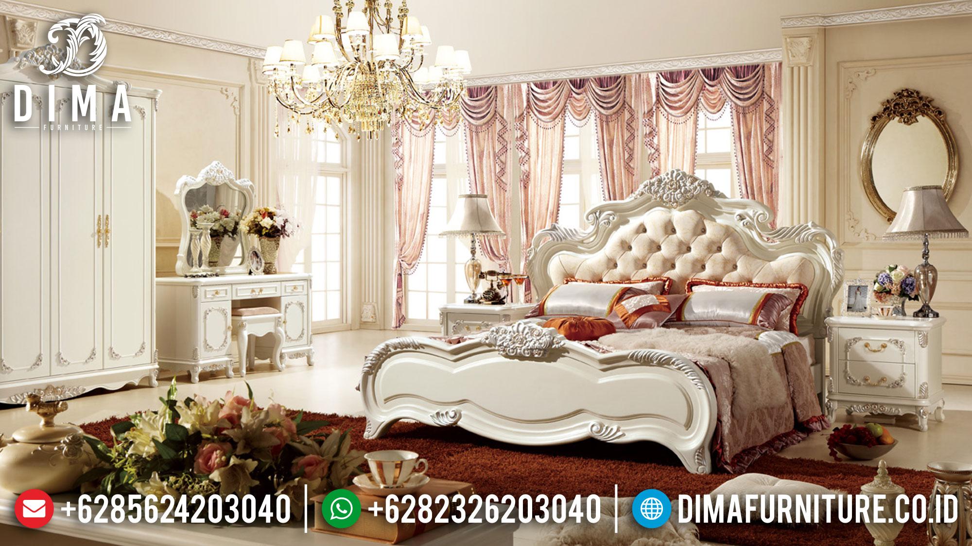 New Desain Kamar Set Mewah Jepara Luxury Carving Majestic Room Concept ST-1144