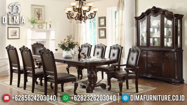 New Meja Makan Ukiran Jepara Design Classic Luxury Oldschool Style ST-1110