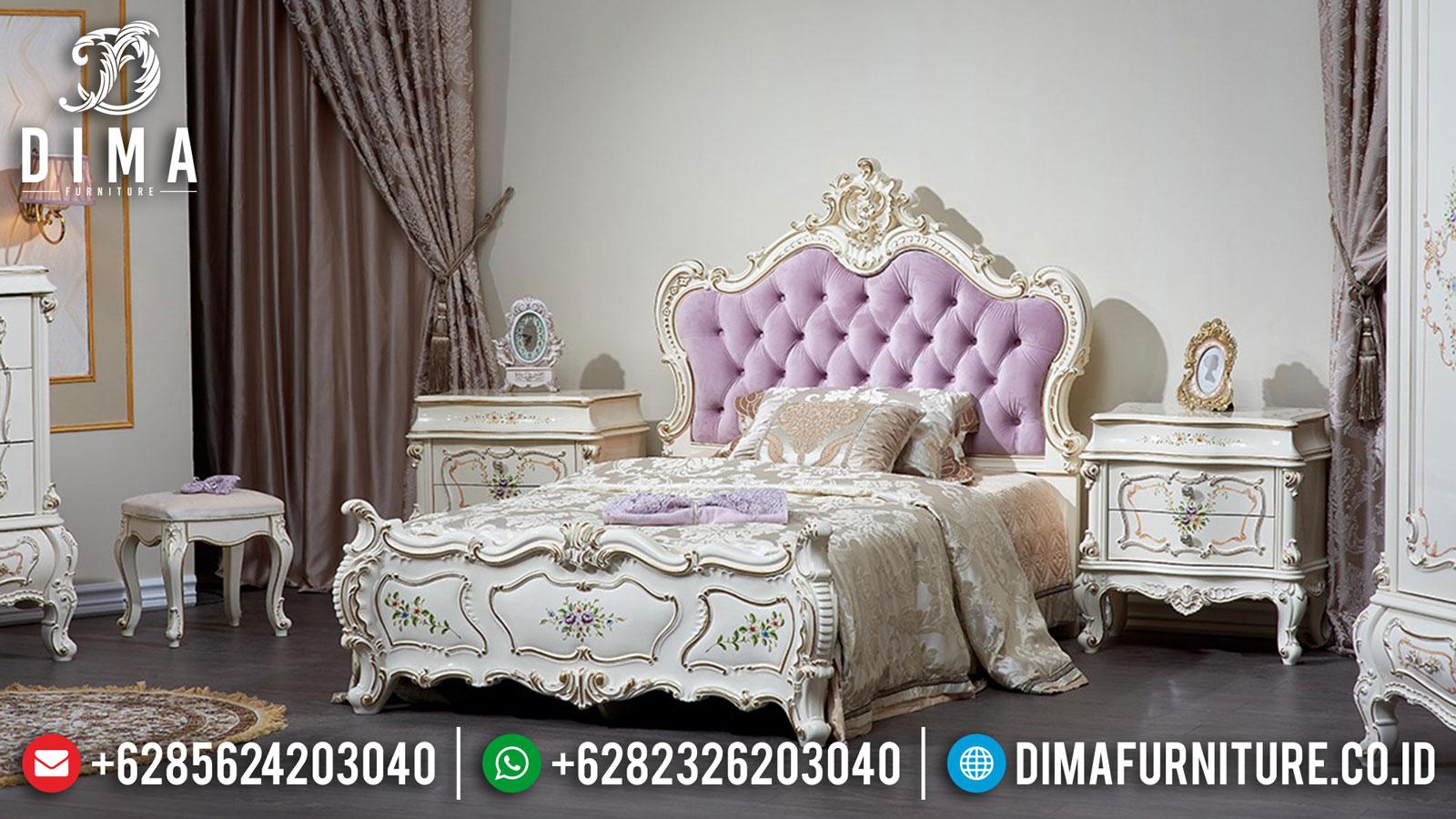 New Model Kamar Set Mewah Ukir Jepara Luxury Furniture Harga Terjangkau ST-1142