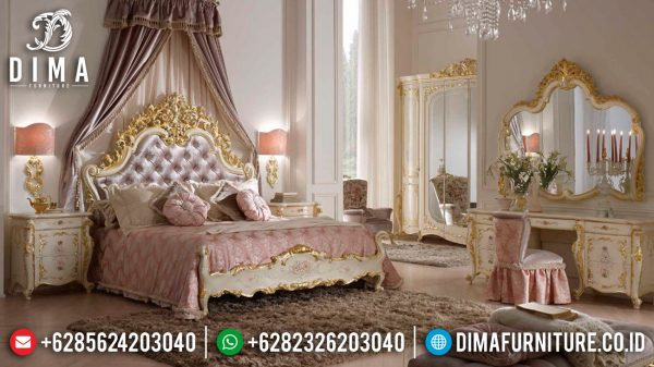 New Tempat Tidur Mewah Ezekiel Luxury Carving Furniture Jepara ST-1152