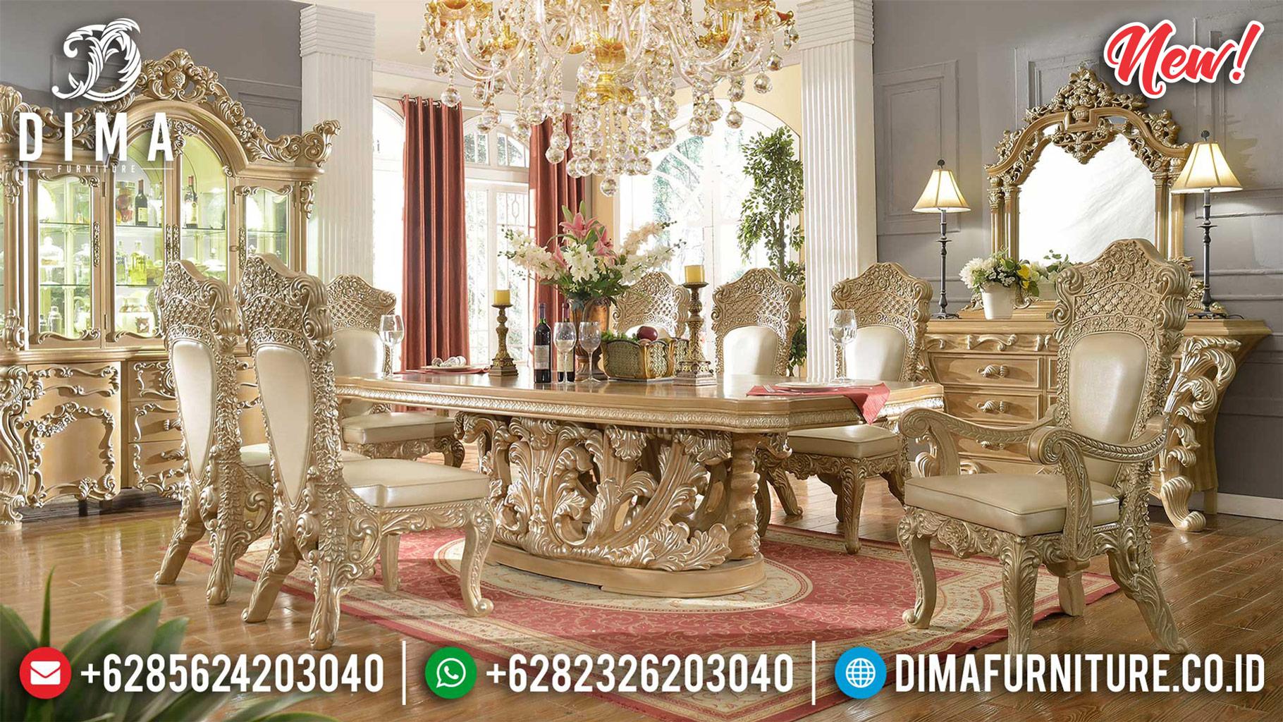 Sepecial Offers Meja Makan Mewah Jepara High Quality Harga Bersahabat ST-1162