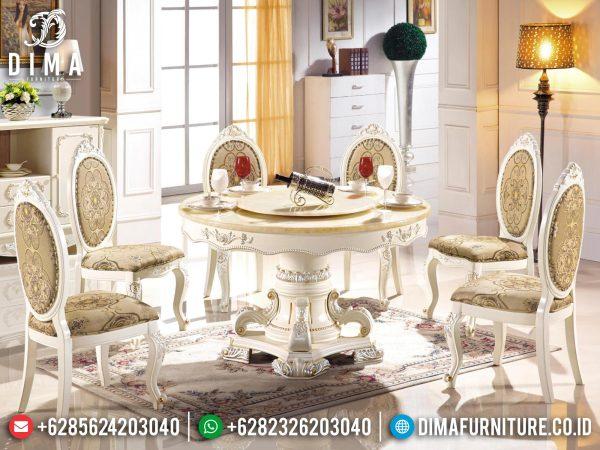 Desain meja makan mewah griffin luxurious classic carving jepara ST-1217