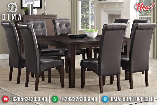 Harga Meja Makan Jepara Minimalis Simple Design Furniture Jepara Natural Jati ST-1224