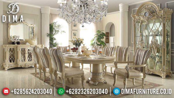Jual Meja Makan Mewah Jepara Luxury Classic Carving Elegant ST-1248