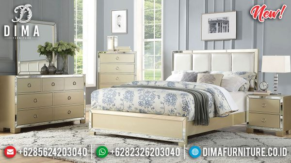 Kamar Set Mewah Minimalis Champagne Color Luxury Modern Type ST-1181