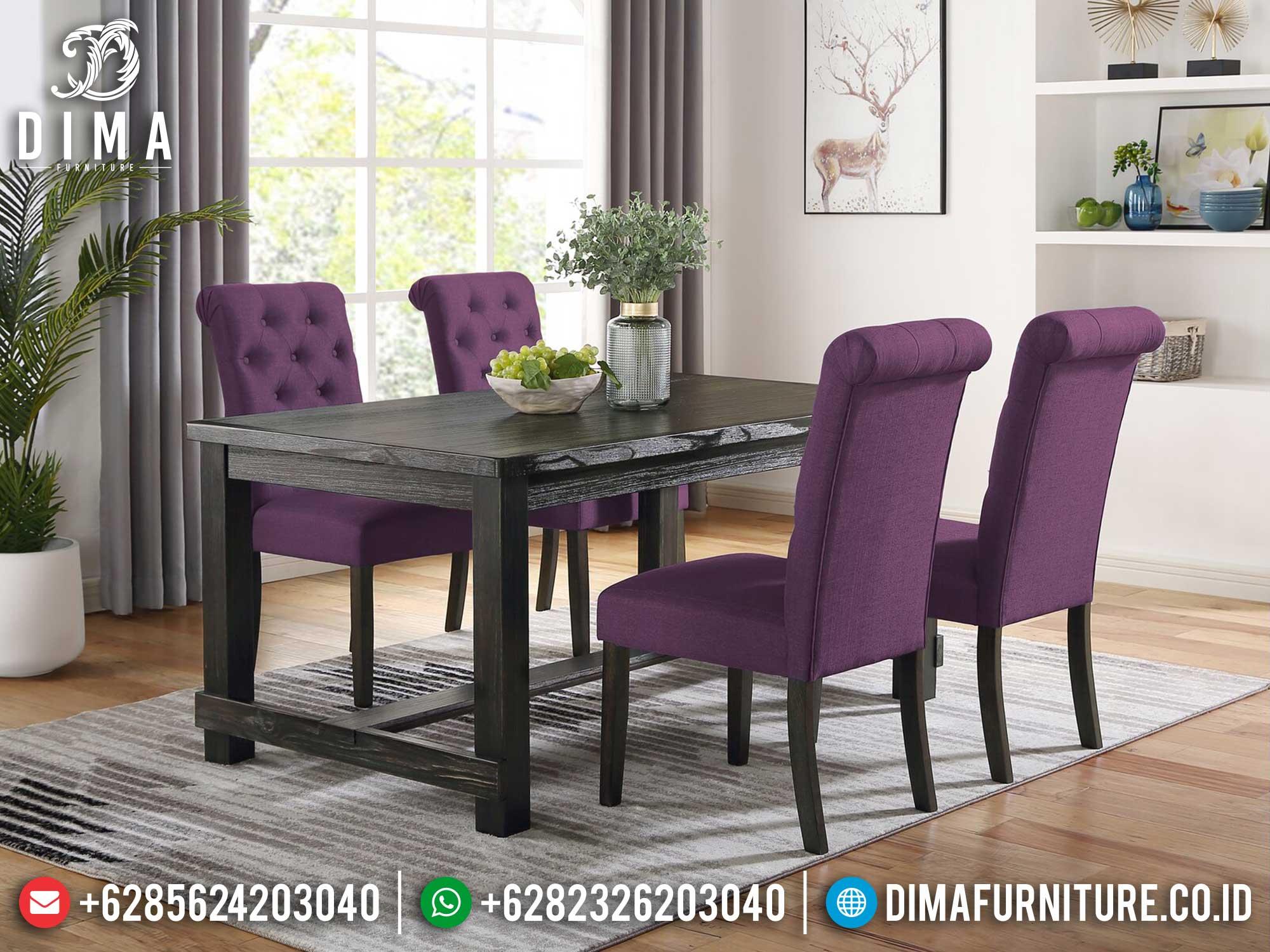 Meja Makan Minimalis Jepara Candreva Style Simple Furniture Jepara Update ST-1196