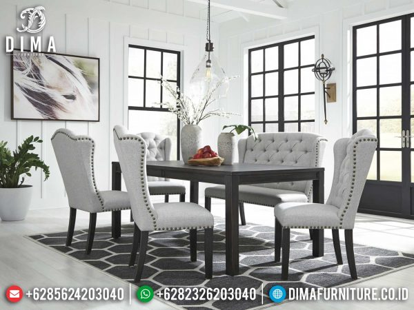 Meja Makan Minimalis Palace Luxury Furniture Jepara Newest ST-1205