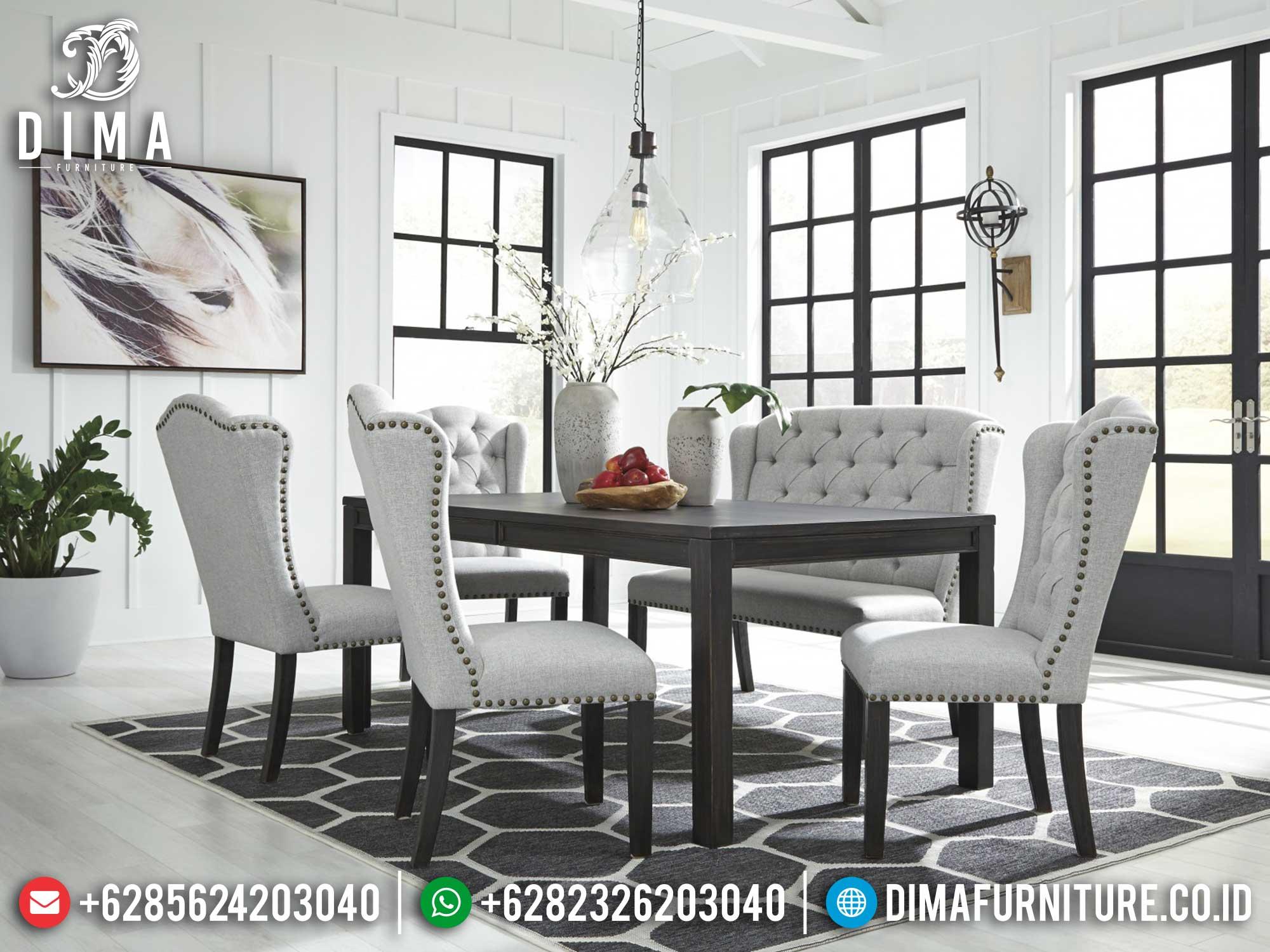 Meja Makan Minimalis Palace Luxury Furniture Jepara Newest ST-1205