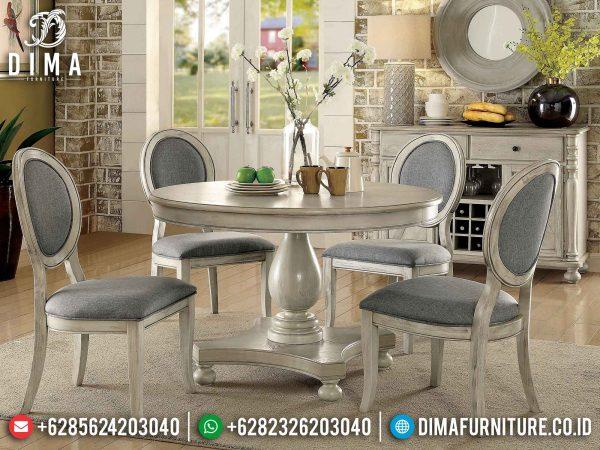 Meja Makan Minimalis Terbaru Cullen Style Natural Luxury Design Jepara ST-1213