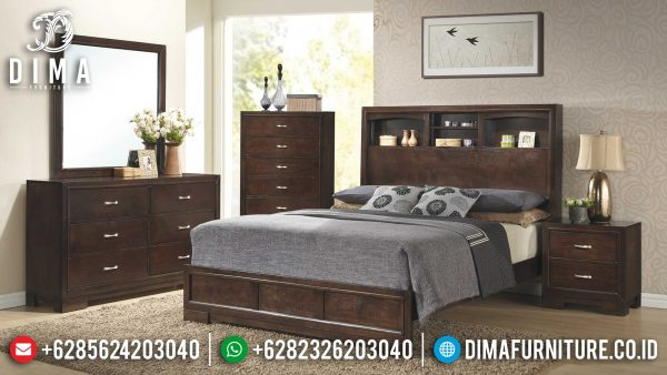 Querra Kamar Set Minimalis Natural Classic Luxury Furniture Jepara ST-1190